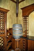 Wine Room Barrel