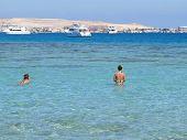 Snorkeling in Red sea, Egypt, Hurgada