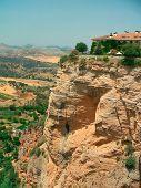 View of Ronda canyon - Spain Andalousia