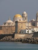 Cadiz - Spain city at mediterranean sea