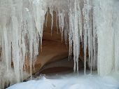 Coloseup of Icicles