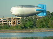 Zeppelin Landung