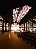 Saint-Lazare Train Station In Paris