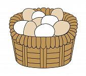 Basket Of Eggs