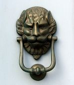 Doorknocker Lion