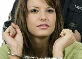 Arrest girl in police station