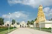 image of saracen  - North gate of Mysore Maharajah - JPG