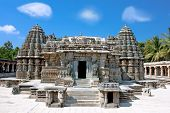 The astonishingly beautiful Keshava Temple in Somnathpur, Karnataka, India