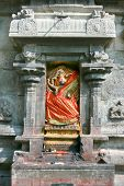 Detail of Arunachaleswar Temple in Tiruvannamalai  dates from the 11th century,Tamil Nadu, India