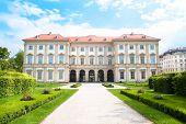 Liiechtenstein Museum with beautiful park , Vienna, Austria