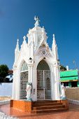 stock photo of kanyakumari  - Chapel of Catholic  Church in Kanyakumari - JPG
