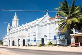 pic of santhome  - Catholic  Church in village near  Kanyakumari - JPG