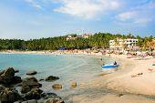 Main beach in Kovalam,  Kerala, India
