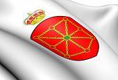 Escudo de Navarra, España.