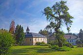 Castle In Velke Losiny (czech Republic)