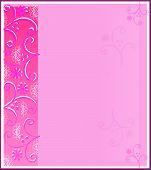 Paletas de papel color de rosa