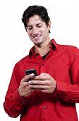 Mensajes de texto de hombre