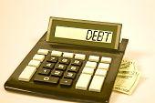 Calculator Says Debt