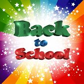 Back To School Inscription