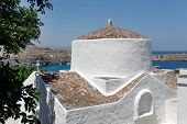 The Church Of Panagia, Lindos, Rhodes, Greece