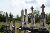 Graves At St Ignatius Church Maryland
