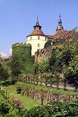 Langenburg Castillo en verano