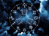 Fundo de astrologia