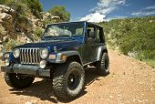 Jeep On An Arizona Trail