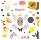 Colorful design elements  set