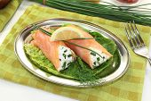 Delicious Salmon Rolls