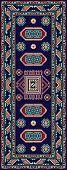 Armchair Karachop Blue 1