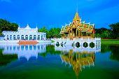 Attraction Ayudhaya-The Bang Pa-In Royal Palace