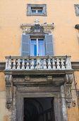 Brugiotti Palace. Viterbo. Lazio. Italy.
