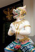 Hanuman (monkey) Statue .