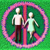 Couple In Peace