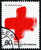 Postage Stamp Germany 1988 Red Cross