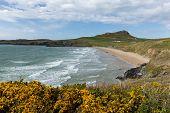 Whitesands Bay Pembrokeshire Wales UK