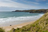 Whitesands Bay near St Davids West Wales UK