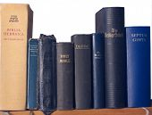 Shelf Of Bibles