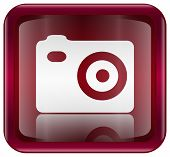 Camera Icon Red
