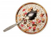 Pills On The Saucer