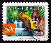 Postage Stamp Australia 2003 Yellow-bellied Sunbird