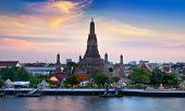 stock photo of buddhist  - Wat Arun or  - JPG