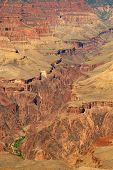 South Rim Of Grand Canyon In Arizona