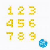 Pixel Block Alphabet