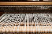 foto of handloom  - Hand loom in front view  - JPG
