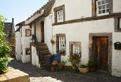 Altes Haus in Culross, Schottland, UK