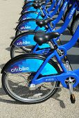 Citi bikes ready for business in New York