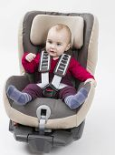 Young Child Booster Seat For A Car