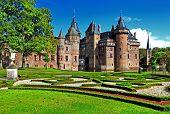 beautiful holland castle de Haar